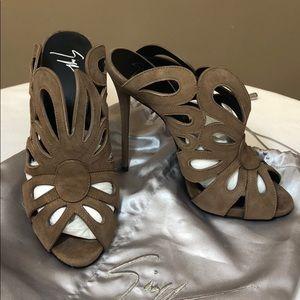 cdeade0984f Giuseppe Zanotti Shoes - Designer new Giuseppe Zanotti high heels back open